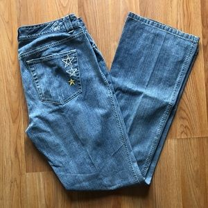 Tommy Hilfiger low rise boot jeans